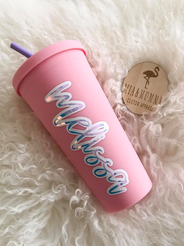 Personalised Silicon Tumbler