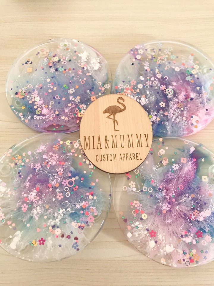 Personalised Coasters- Shine Bright