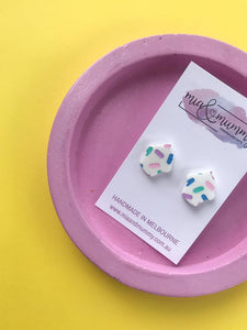 Pastel Cupcake Earrings
