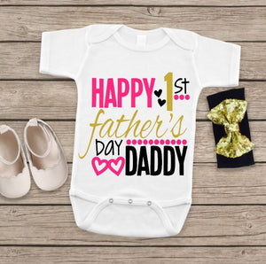 1st Father's Day Bodysuit