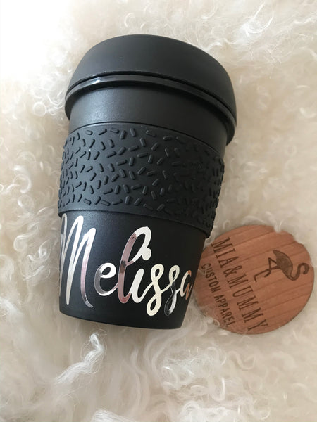 Personalised Travel Coffee Cup