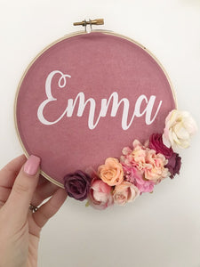 Personalised Wall Hanger.