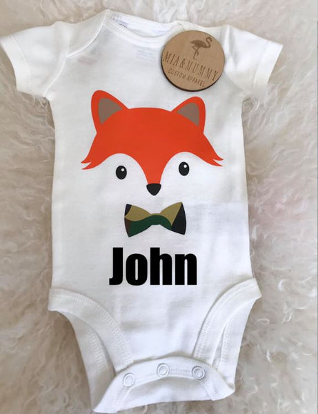 Mr Fox Bodysuit