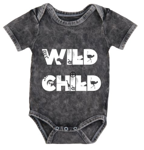 Personalised Stonewash Bodysuit