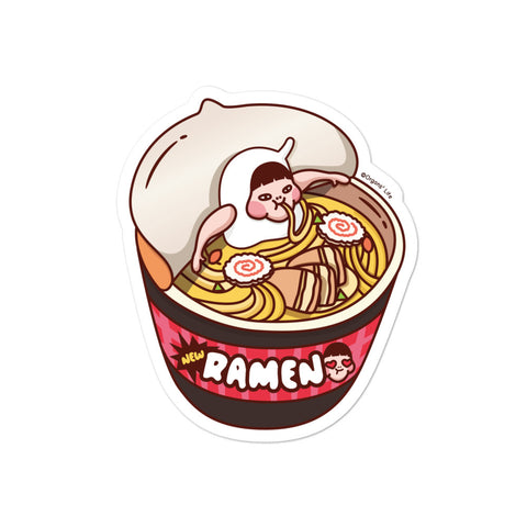 Ramen Die cut stickers