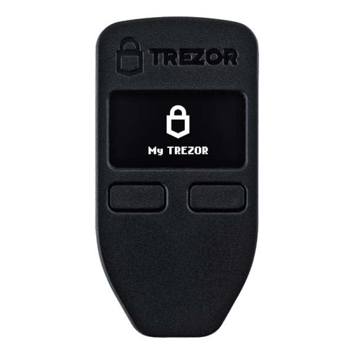 trezor hardware wallet bitcoin black