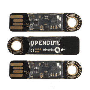 opendime disposable bitcoin hardware wallet