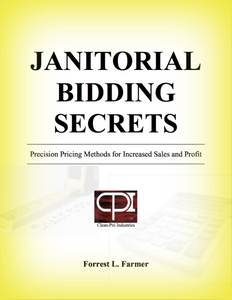 Janitorial Bidding Book Download