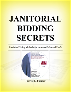 Janitorial Bidding Book and CD Download