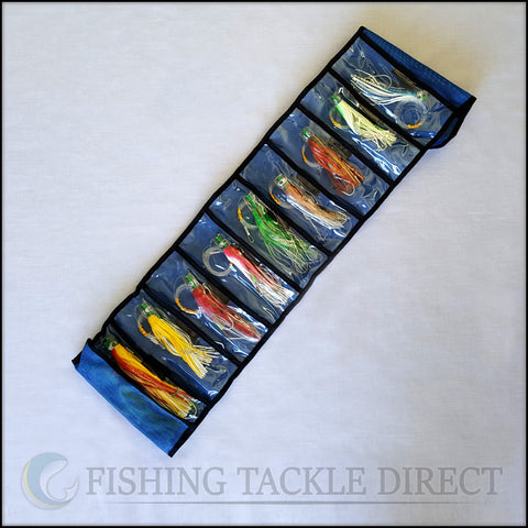 "OEM Rigged Pusher Lures 200/175/150mm (8""/7""/6"") - 10 Pack"