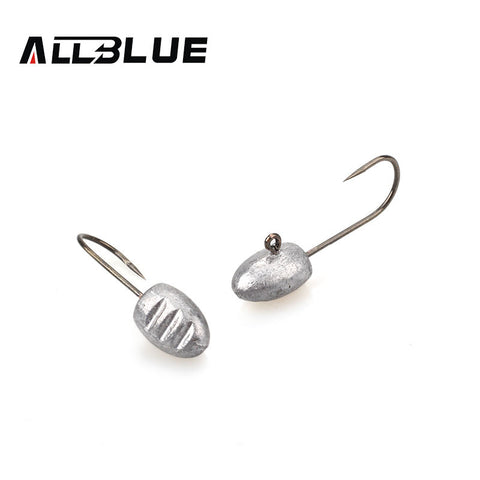 Two XS ALLBLUE Fishing lead Jig Heads