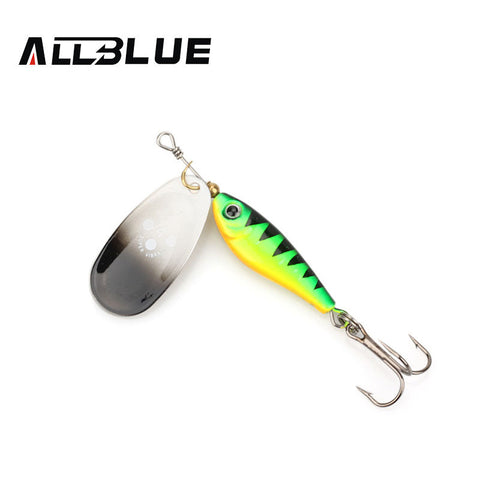 Full view of a single ALLBLUE long casting super spinner