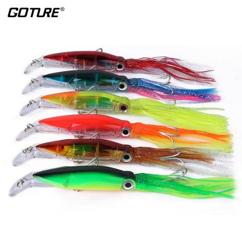 Multiple GOTURE Hydrosquirt Lures