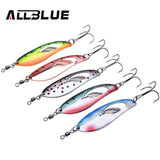 Multiple ALLBLUE Fifths Temptations (Spoon Lure)