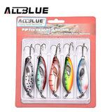 ALLBLUE Fifths Temptations (Spoon Lure) 5 Pack