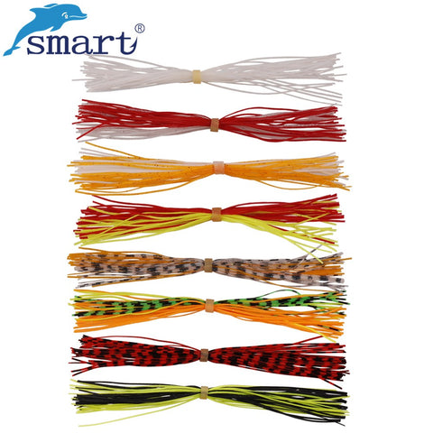 Silicone Skirt Strands 130mm (8 Color Options) - 5 Packs