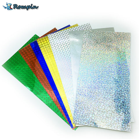 Holographic Adhesive Film 10 x 20cm - 7 Sheets