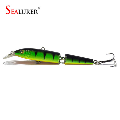 Full View of the SEALURER Diving Wobbler Fishing Lure 100mm