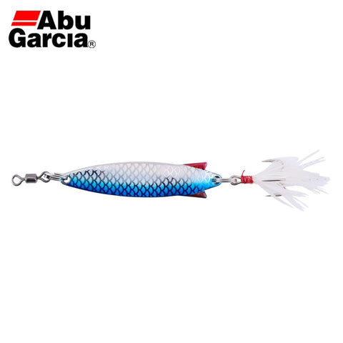 Abu Garcia Toby Style  Silver Blue Flash Color Spoon Bait