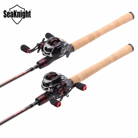 SeaKnight LEC Fishing Rod + VIPER  Baitcasting Reel  Combo