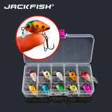 JACKFISH 10 pack Minnow fishing lures