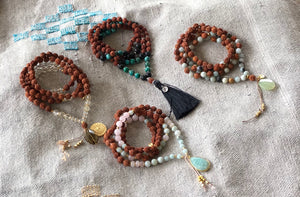 Rudraksha: The sacred seed of japa mala beads and why I love them so much!