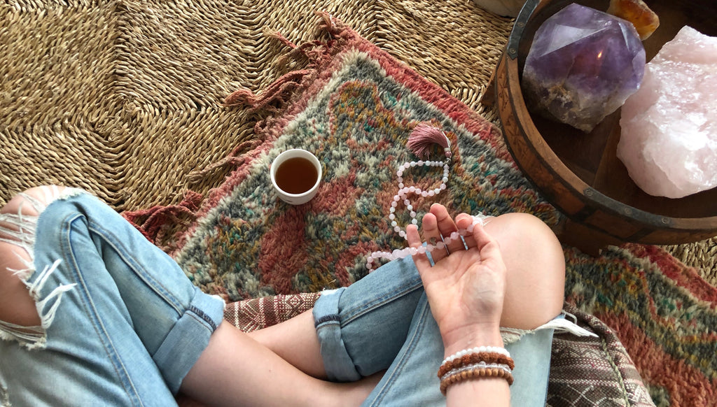 How to use your 108 Japa Mala Beads for intention setting meditation