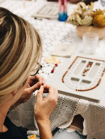 Ava Jewels Mala Bead making workshop