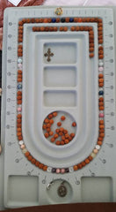 mala bead layout bead board