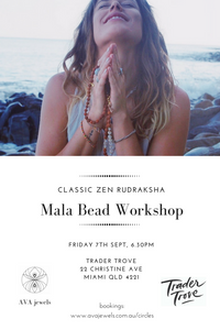 Zen Mala Workshop - Friday 7th Sept - Trader Trove