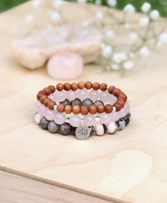 Eternal Love Bracelet Stack