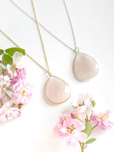 Avalon Rose Quartz Necklace