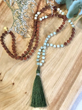 """I AM COURAGEOUS"" Heart Chakra Mala"
