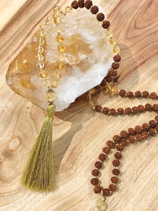 """I AM EMPOWERED"" Solar Plexus Mala"