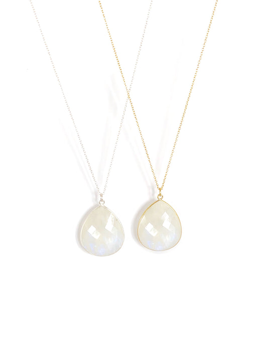 Imogen Rainbow Moonstone Necklace