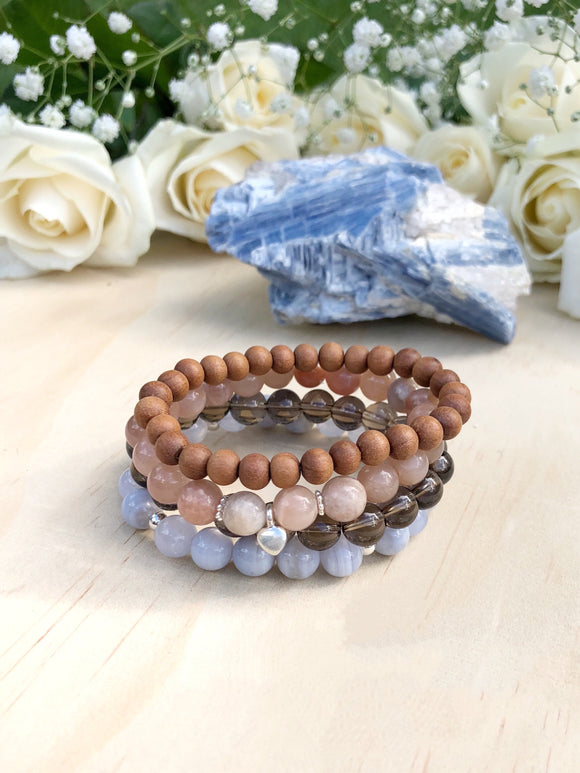 Gentle Warrior Bracelet Stack