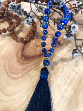 """I AM WORTHY"" Throat Chakra Mala"