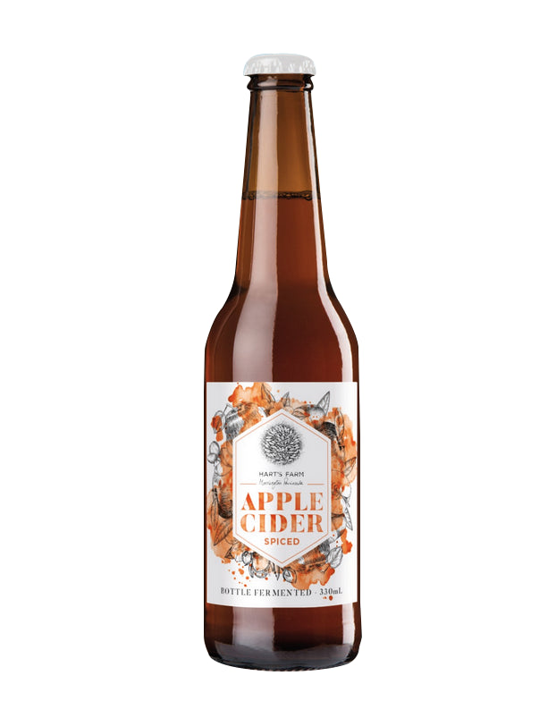 Apple Cider - Spiced - Bottle Fermented 330 ml - Half Case (12 bottles)