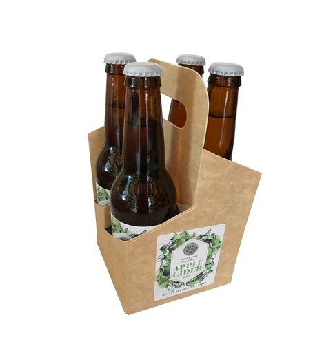 Apple Cider - Dry Bottle Fermented 330 ml  - 4 pack Silver Medal Australian Cider Awards 2018