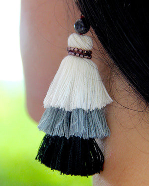 Magical Tribe Tassel Earrings