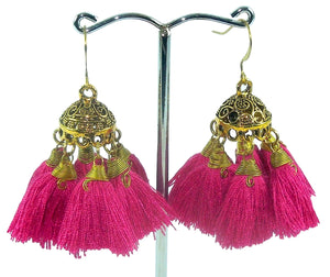 Gypsy Party Tassel Earrings