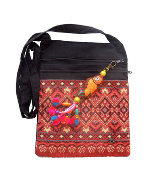 Koi Tribal Cross body Bag