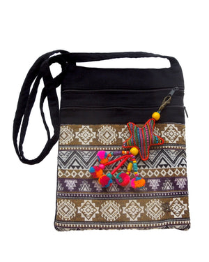 Star Tribal Geometric Napa Crossover Bag