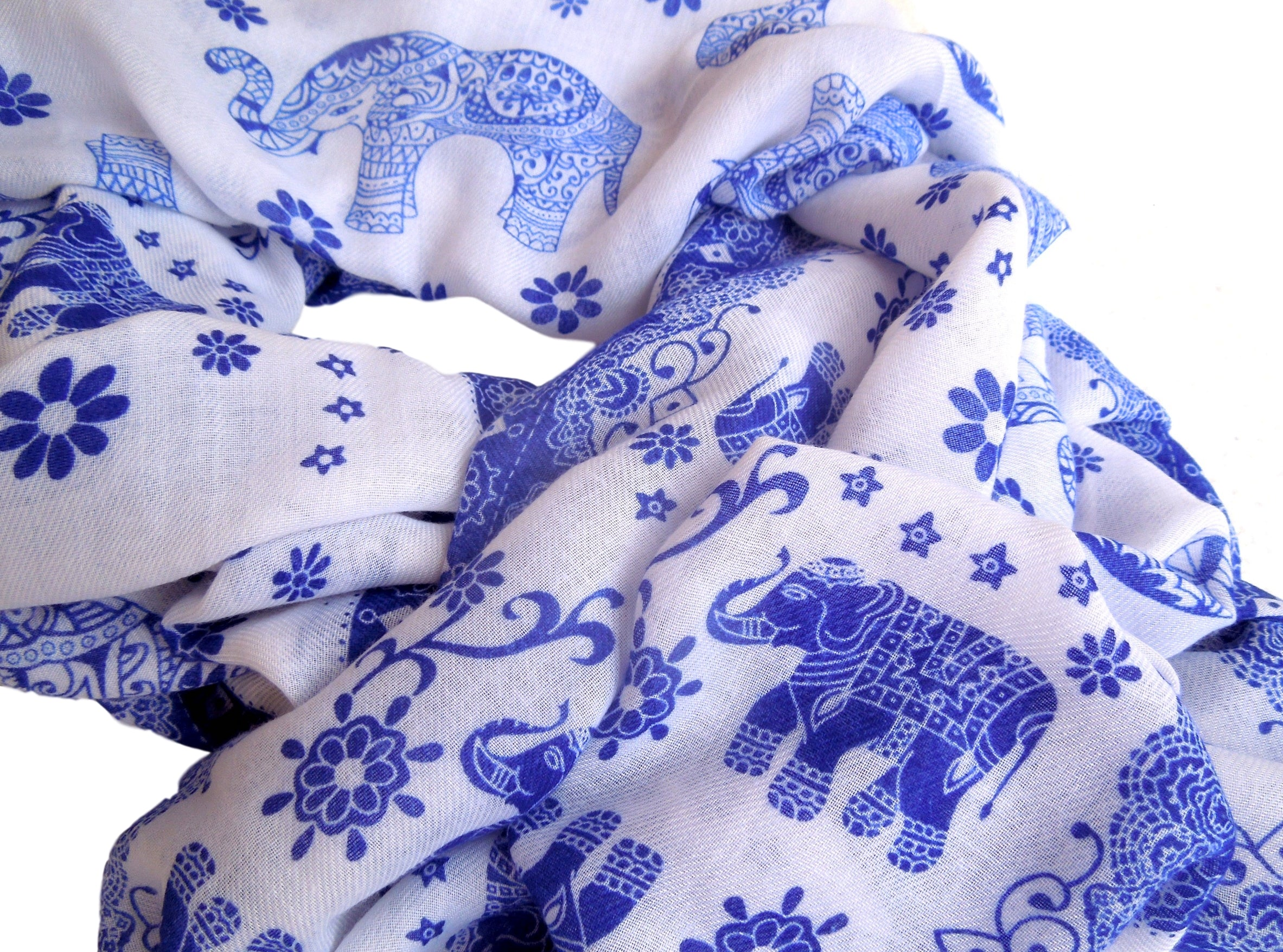 Lucky Elephants Scarf