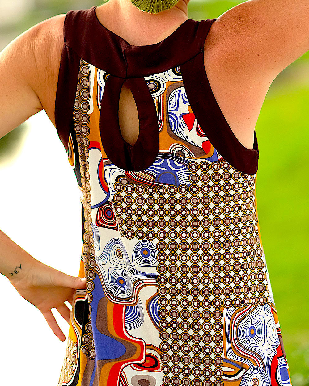 Klimt Colorful Dress