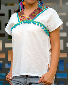 Tribal Mekong Blouse