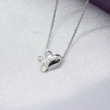 Tiny Devil Heart Necklace
