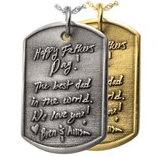 Custom Dog Tag Pendant