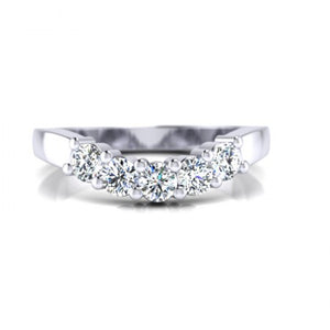 wedding bands for odd shaped engagement rings