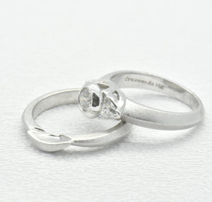 womens wedding set ring sutton smithworks